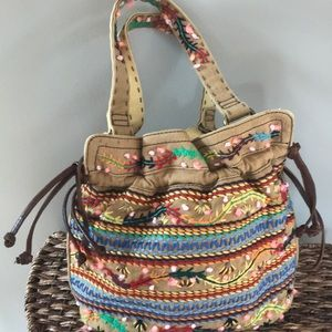 Lucky Embroidered Bag
